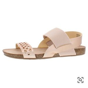 Steve Madden Mandaa Sandals, Size 10, Rose Gold